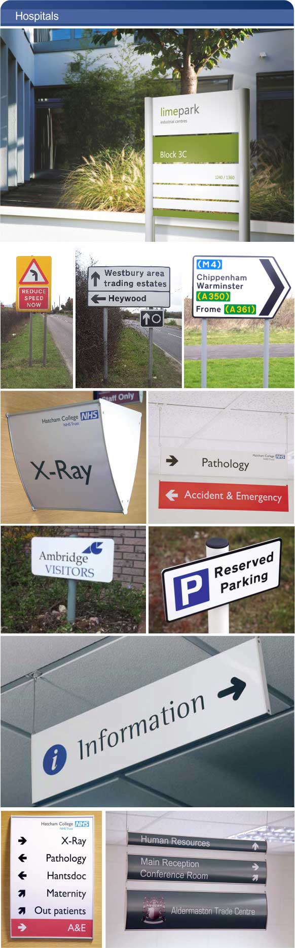 Hospital Signs